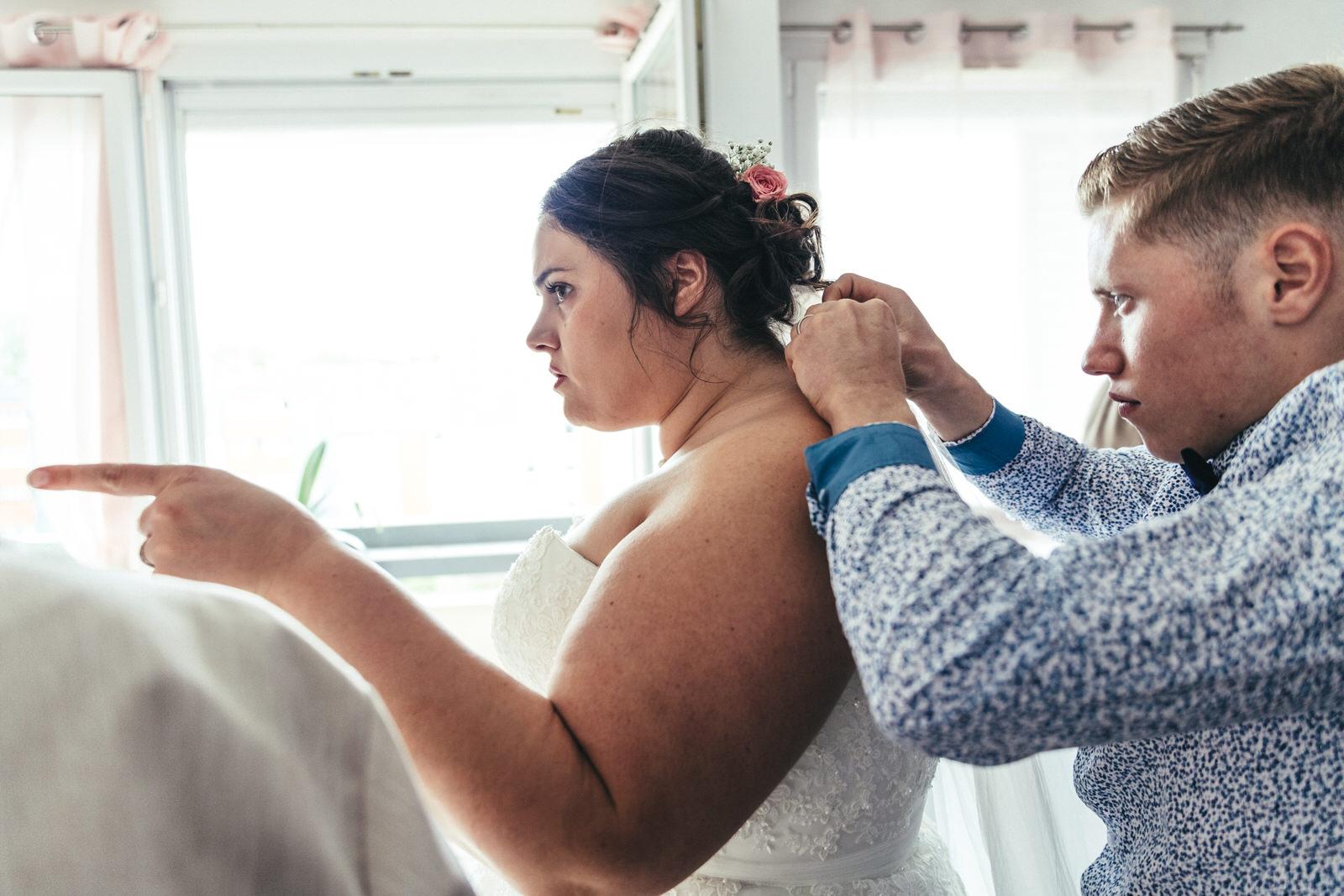 Photographe mariage dieppe haute normandie préparatifs
