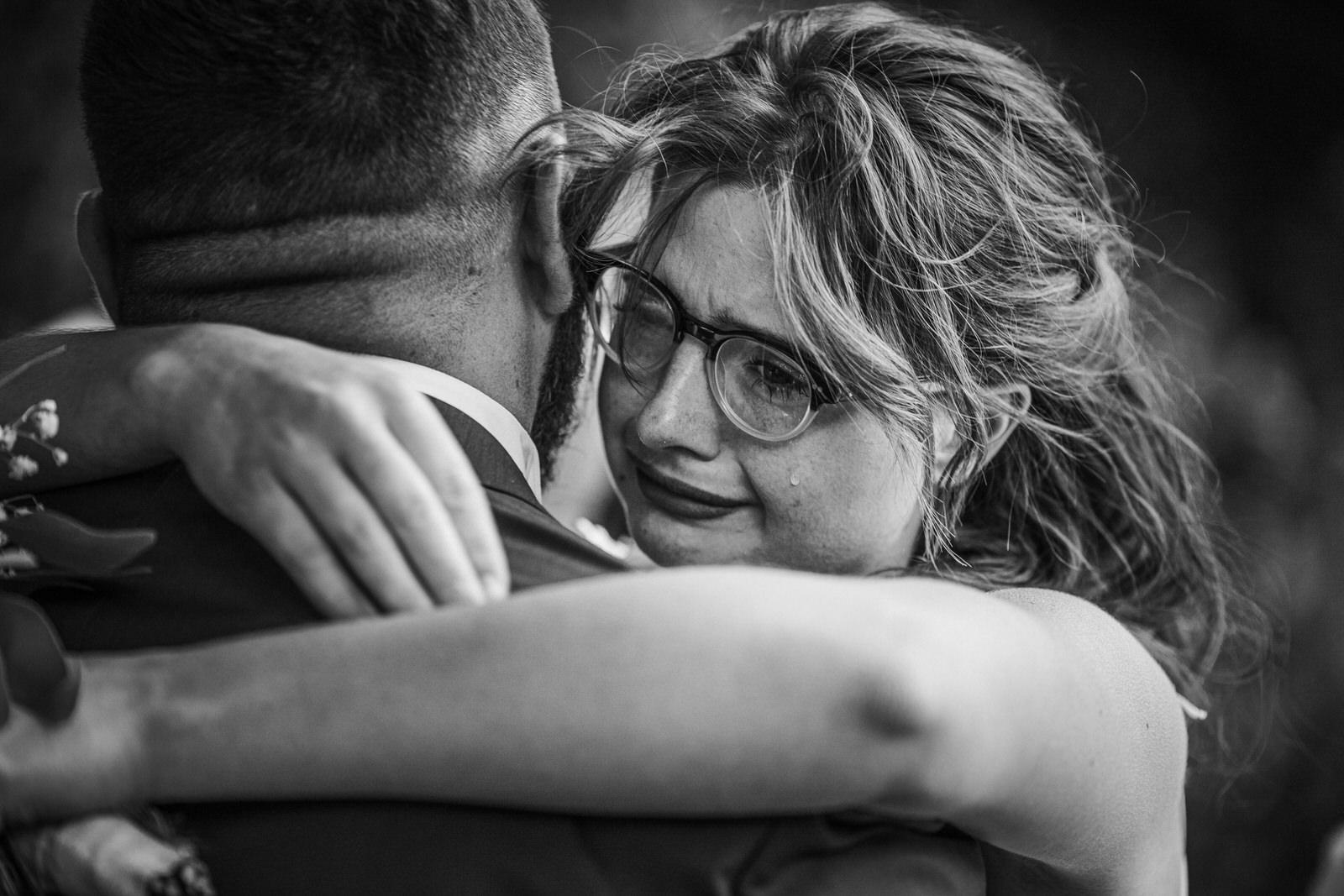 Photographe mariage clos de la beauce émotion